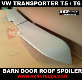 VW Transporter T5 Sport Style Barn Door Roof Spoiler