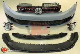 VW Golf MK6 GTi Type Front Bumper 2008 to 2012
