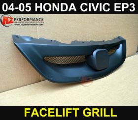 2004 2005 Honda Civic EP3 3DR M Type Front Grill FACELIFT