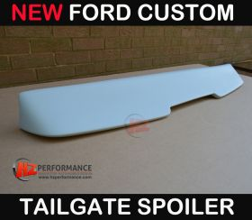 Ford Custom Tailgate Single Door Roof Spoiler
