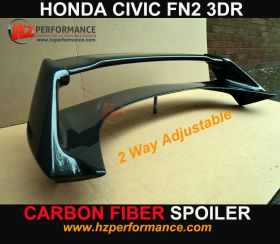 06-11 Honda Civic FN FN2 FK Carbon Fiber MG Boot Spoiler