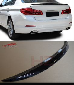 GLOSS BLACK M SPORT PERFORMANCE LOOK REAR BOOT LIP SPOILER FOR BMW G30 5 SERIES