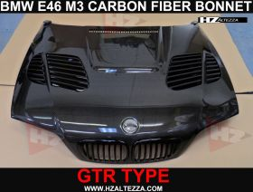 CSL LOOK CARBON FIBER BONNET FOR BMW M3 E46