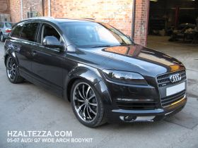 05-09 Audi Q7 A Type Full Bodykit