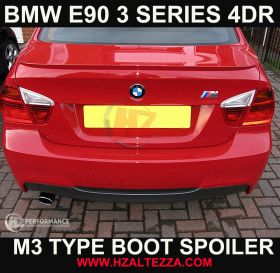 2005 - 2012 BMW E90 3 Series 4DR Saloon M3 Type Boot Spoiler