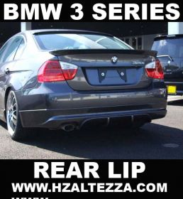 05-09 BMW E90 4DR 3 Series A Type Rear Bumper Lip
