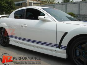 Mazda RX8 MS Type Side Skirts