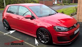VW Golf MK7 GTi Type Side Skirts